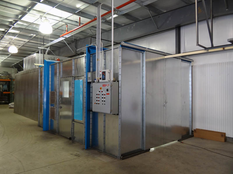 E-Coating room