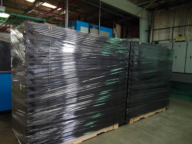 Professional shipping of final Powder Coated project