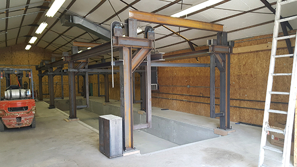 Great Dane Powder Coating - New E-Coat Facility