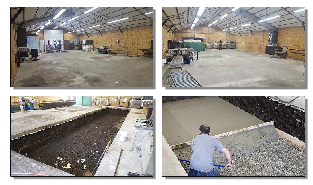 Great Dane Powder Coating - E-Coat Facility - Latrobe Pennsylvania