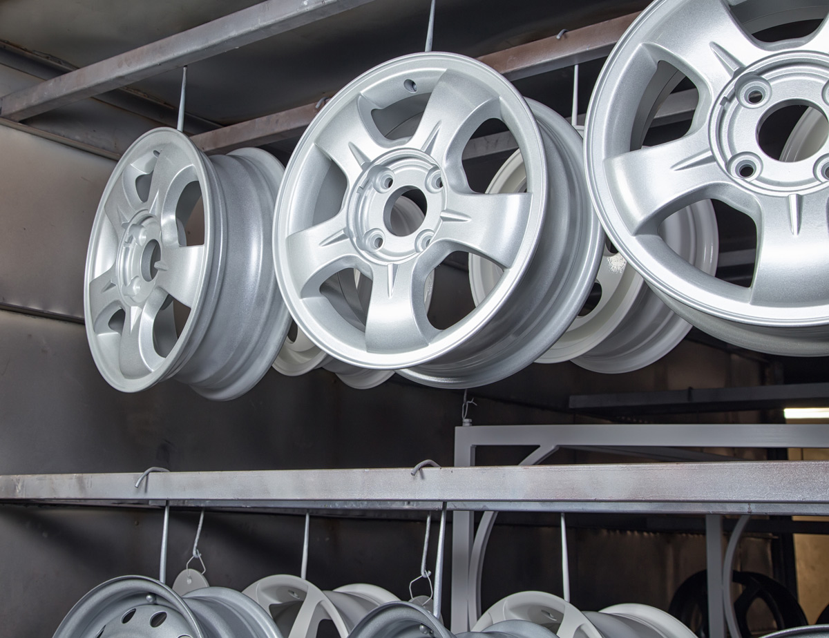 Great Dane Powder Coated Wheels