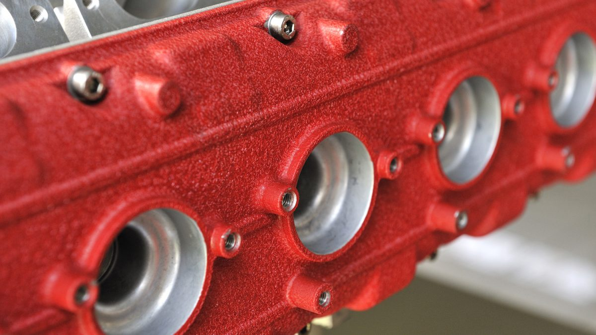 Great Dane Powder Coating engine parts