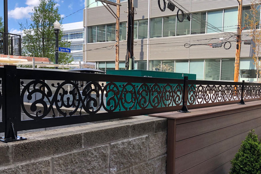 Powder Coated Railing
